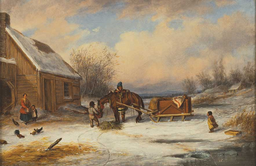 Early Canadian Homestead